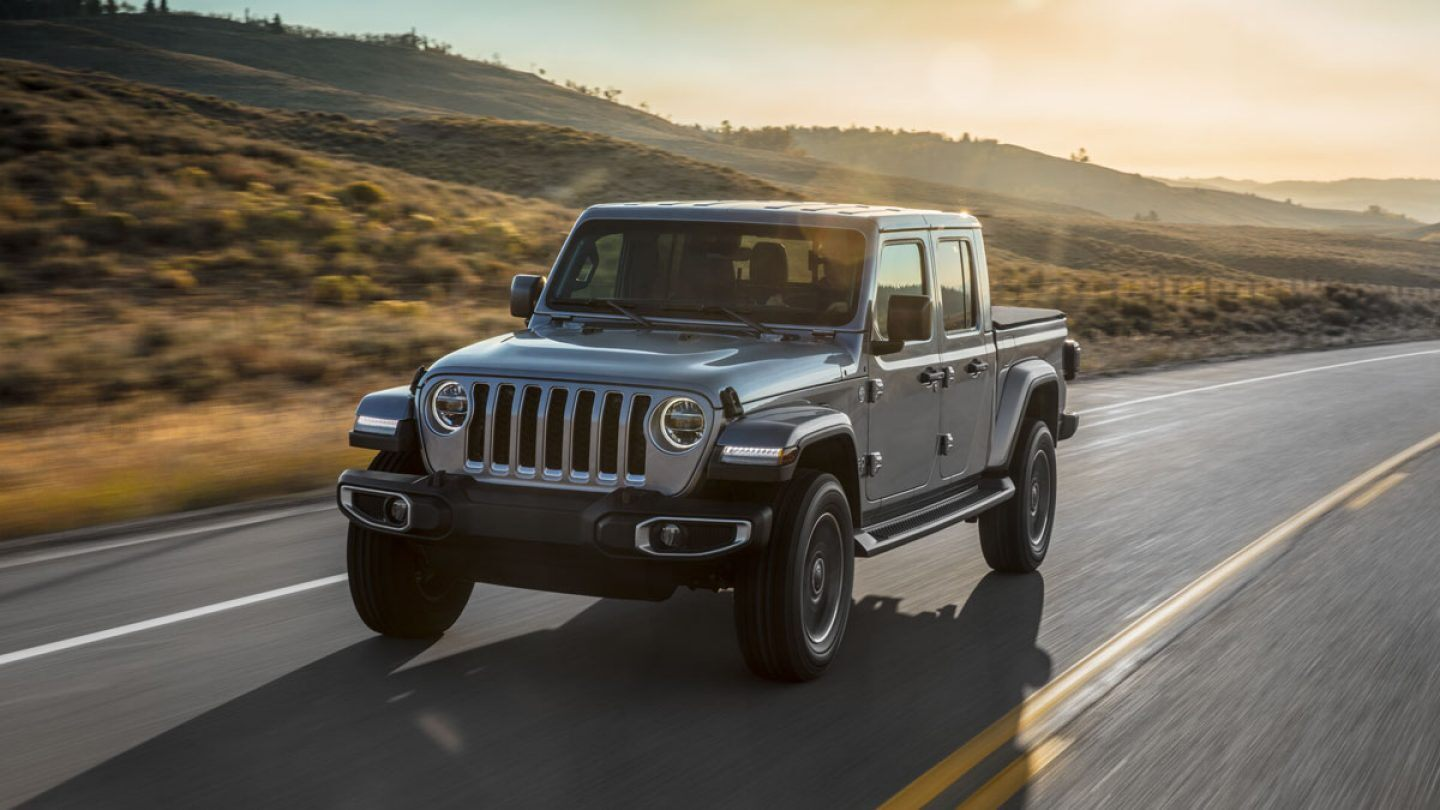 2020 Jeep Gladiator Front Gray Exterior
