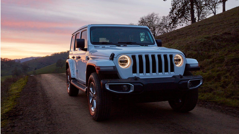2020 Jeep Wrangler Unlimited Rubicon White Exterior Picture